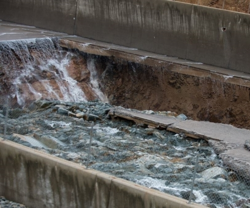 O problema da cavitação em extravasores de barragens