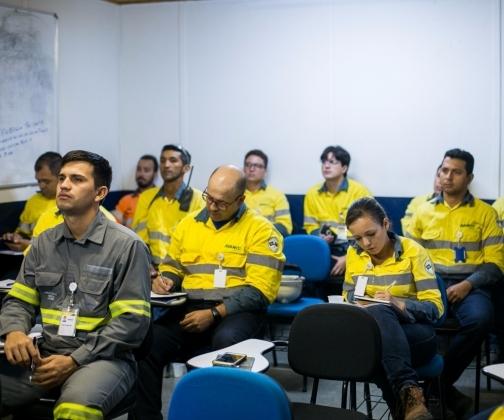 Treinamento e simulado interno de situações de emergência da barragem Antas Norte