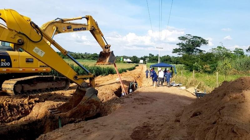 Obras do novo sistema de captação de água em Pará de Minas estão 85% concluídas
