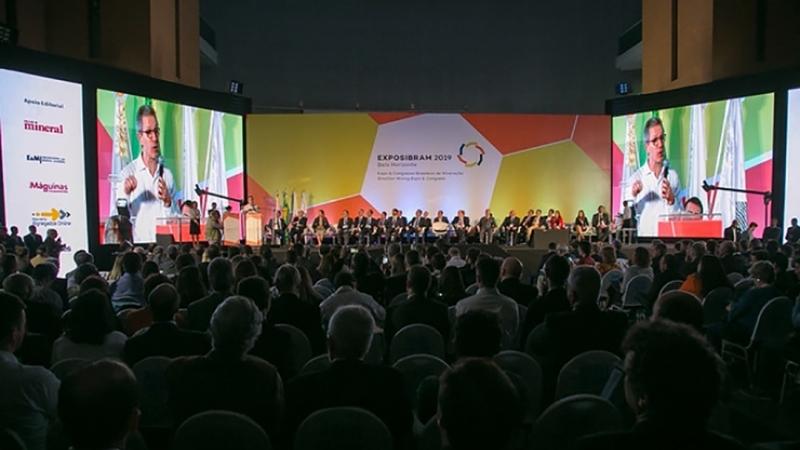 Exposibram 2019: cerimônia de inauguração mostra a necessidade de aprender com o passado e analisar o futuro da mineração brasileira