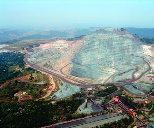 Vale confirma descoberta de mineral raro em Itabira